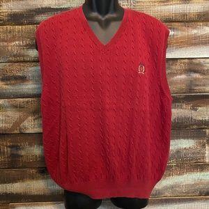 Vintage 90's Tommy Hilfiger Knitted Sweater Vest